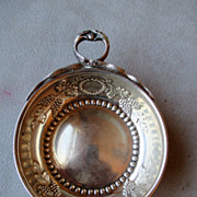Magnificent French Sterling Silver Porringer with Snake Handle