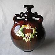 Vintage Peters & Reed Art Pottery Two Handle Vase