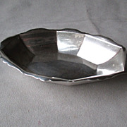 Small Sterling Silver Serving Dish