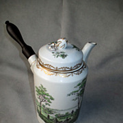 Experimental Royal Copenhagen Tea or Chocolate Pot