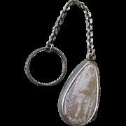 Vintage Sterling Silver Rosary in Locket