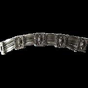 Fabulous Vintage Sterling Taxco Link Style Bracelet