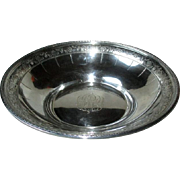 Fabulous Sterling Silver Serving Bowl by J.E. Caldwell