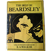 "SALE PENDING 1st U.S. Edition ""The Best of Beardsley"" by R. A. Walker"