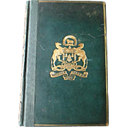 """1889 1st Edition - """"The Attic Theatre"""" by A. E. Haigh - Athenian Theater"""