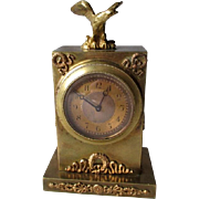 Gorgeous Antique French Brass Carriage Clock