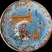 Stunning Antique H. Schlitt Mettlach Charger #2149