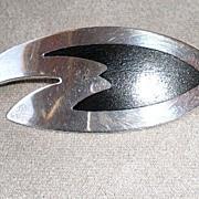 Fabulous Danish Designer Sterling Silver Pin