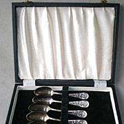 Fabulous Boxed Set Columbia Exposition Souvenir Spoons