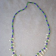 Fabulous Monkey's Tooth Childs Necklace from Panama