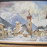 Original Oil Painting -  Richard G. Packer (1916-1998)