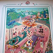 Fantastic Melanie Taylor Kent Serigraph - Rose Parade Centennial