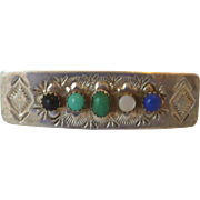 Native American Sterling Silver Hair Barrette