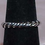 SALE Thailand Sterling Band Ring
