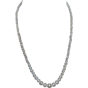 SALE Strand of Faux Pearls, Marked Japan