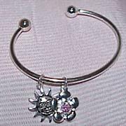 Vintage Charm Cuff Bracelet
