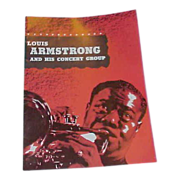 "REDUCED 1955-56 Louis ""Satchmo"" Armstrong Program and Autograph"