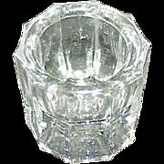 Depression Glass Salt Cellar
