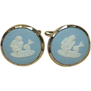 REDUCED Vintage Wedgwood Cuff Links