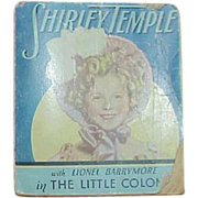 "Book, Shirley Temple as ""The Little Colonel"""