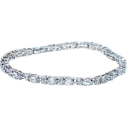 REDUCED Vintage AVON Rhinestone Diamante Bracelet