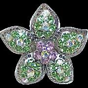 REDUCED Vintage SWAROVSKI Crystal Rhinestone Pendant