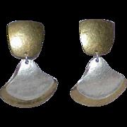 Vintage M. BAER Dangle Earrings