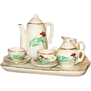 REDUCED Antique doll tea set