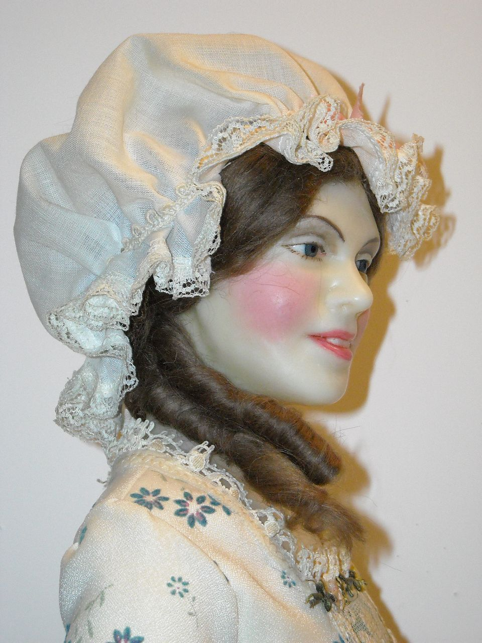 24 Quot Wax Portrait Doll Betsy Ross By Lewis Sorensen From