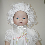 "15 1/2"" Bisque Head Baby Doll ~ Marian Yu"