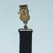 Miniature Mourning Fob