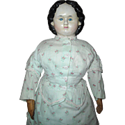 """26"""" Greiner Doll with 1858 Label"""