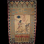 Egyptian Khayamiya Quilted Panel