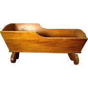Wooden Cradle by Lullabye Furniture