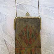 Circa 1915 Whiting and Davis Mesh Bag Purse Very Fine