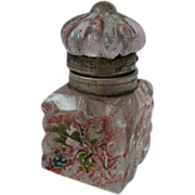 Baccarat Miniature French Ink Well for Doll Circa 1880s-1890s Rare