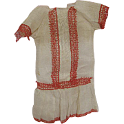 Factory Antique Dress for Antique Bisque Doll