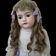 Adorable Large Simon Halbig 1079 Fabulous Antique Clothes Original Wig with Ringlets