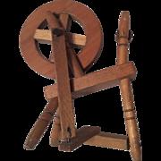 Wood Dollhouse or Doll Spinning Wheel