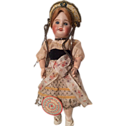 SALE Bebe Jumeau SFBJ French Bisque Doll All Original with Tag!