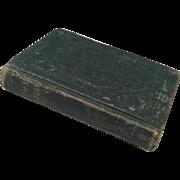 Antique 1880 Miniature Doll Book Prayerbook