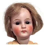SOLD Closed Mouth German Bisque Doll Straight Wrist Jointed Compo Body