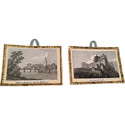 SOLD 2 Antique Dollhouse Doll Picture