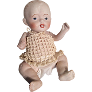All Bisque Bent Limb Baby Doll