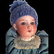 "SOLD Cute 8"" Antique German Bisque Head Doll"