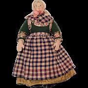 SOLD All Original Vintage Cloth Doll
