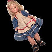 SALE Vintage Compo Composition Effanbee Suzette Doll All Original