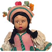 SOLD Vintage Lenci Girl Wide Surpised Eyed Googly with Original Tags