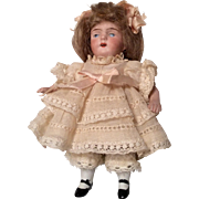 SOLD SWC All Bisque German Antique Doll