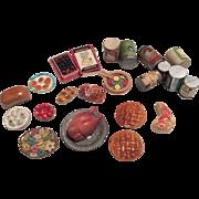SOLD Miniature Dollhouse Doll Food